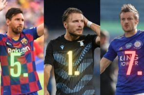 Ciro Immobile Lionel Messi Jamje Vardy