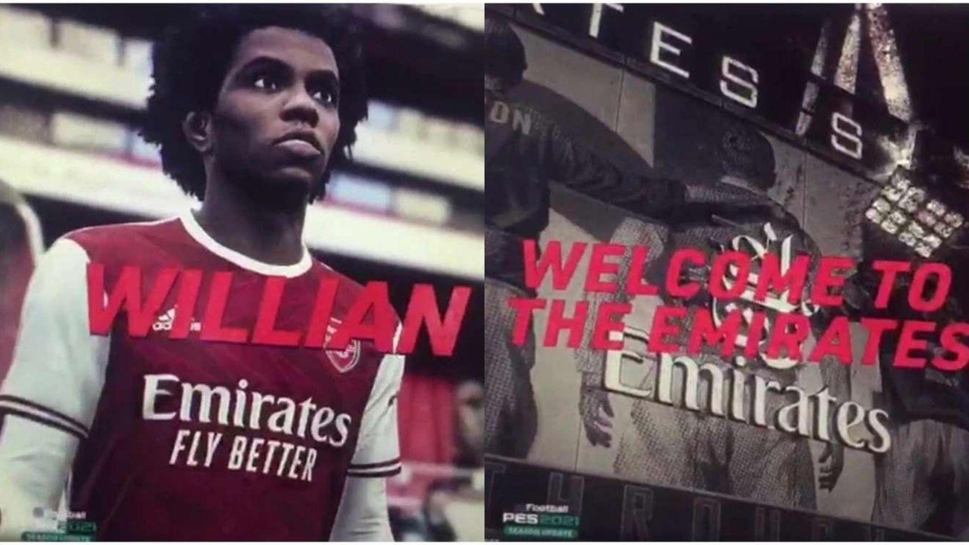 Willian Arsenal PES21