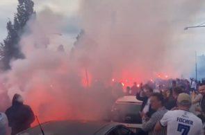 FC København-fans inden kampen mod Basaksehir