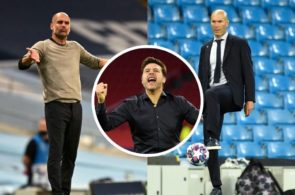 pochettino, Zidane, Guardiola