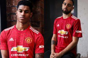 Manchester United, ny hjemmebanetrøje sæson 2020/21