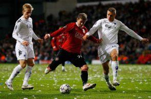 Ole Gunnar Solskjær, Manchester United, mod FC København