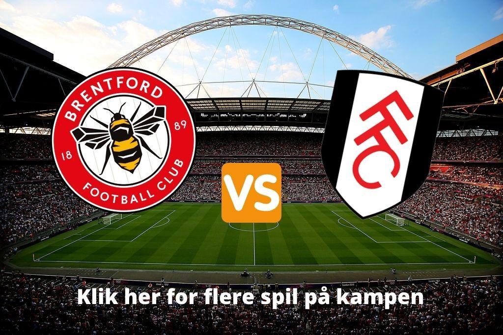 Brentford mod Fulham i Championship-finale