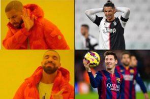 messi, ronaldo