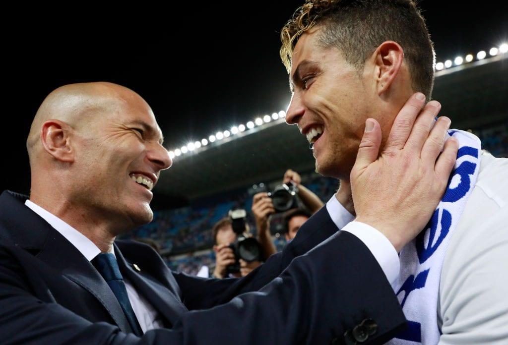 Zinedine Zidane, Cristiano Ronaldo, Real Madrid