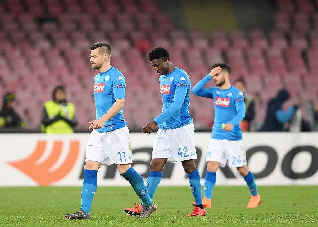 Napoli v RB Leipzig - UEFA Europa League