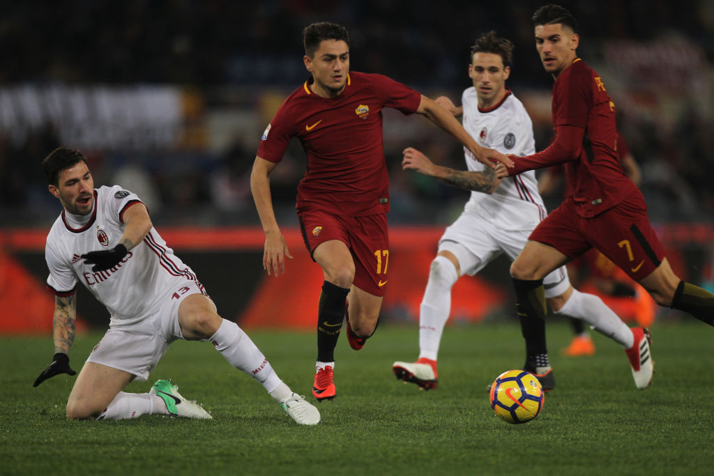 AS Roma v AC Milan - Serie A