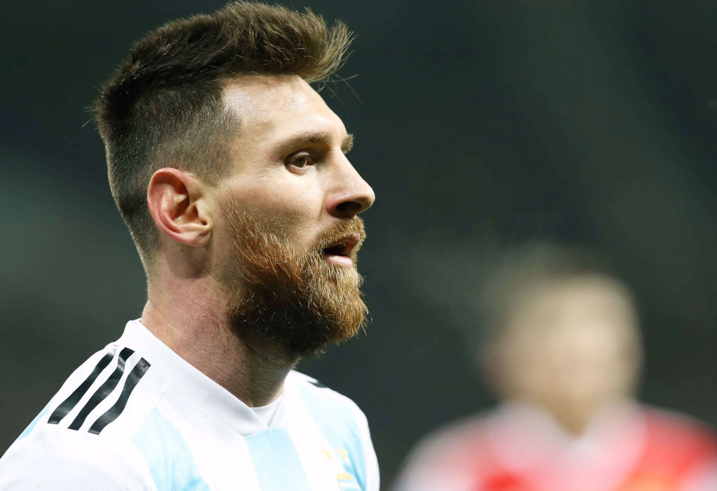 Spain Vs Argentina Messi Out Injured Ronaldo