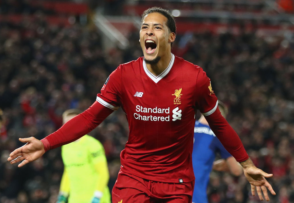 Van Dijk is now one of the best defenders in the Premier League