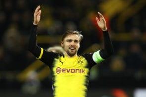 Borussia Dortmund v FC Red Bull Salzburg - UEFA Europa League Round of 16: First Leg