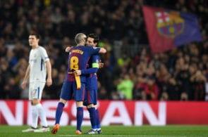 Iniesta & Messi
