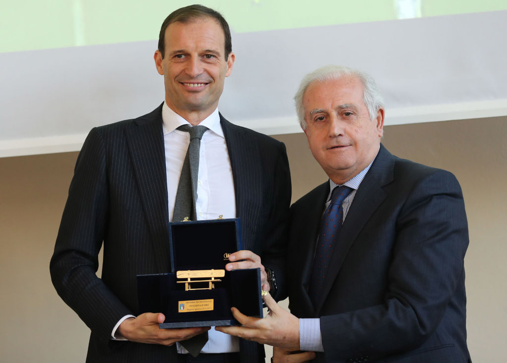 Italian Football Federation 'Panchine D'Oro E D'Argento' Prize