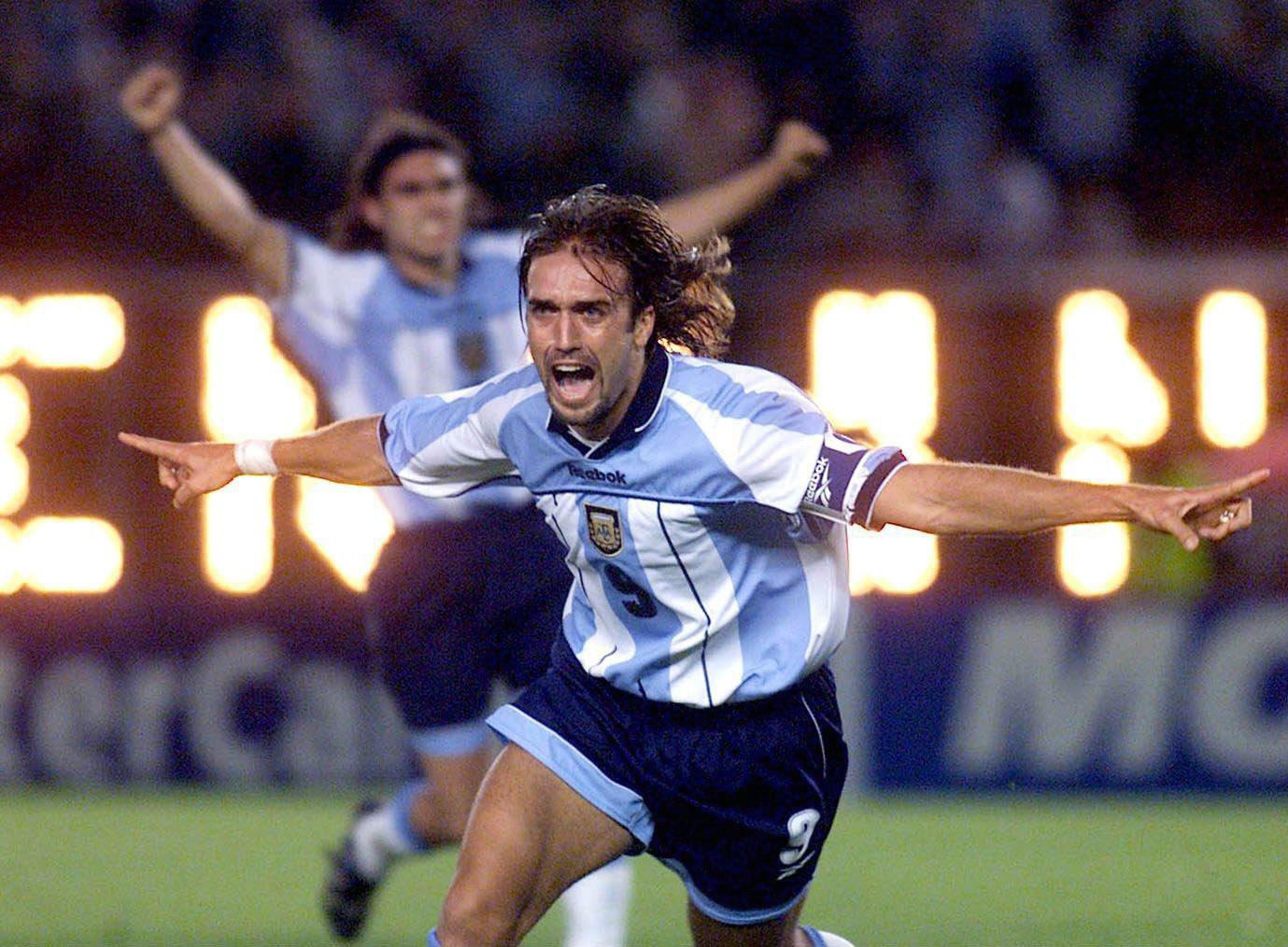 Remembering the legends of football – Gabriel Batistuta
