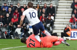 Harry Kane exits with ankle injury