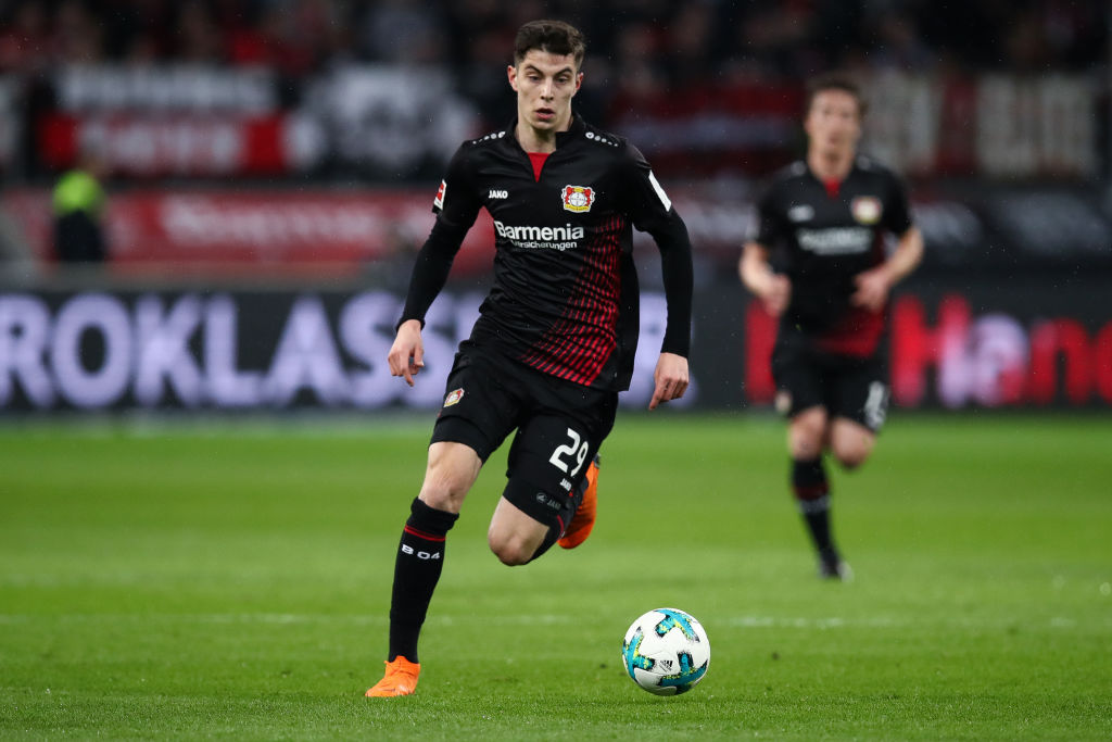 Young prospects in world football – Kai Havertz