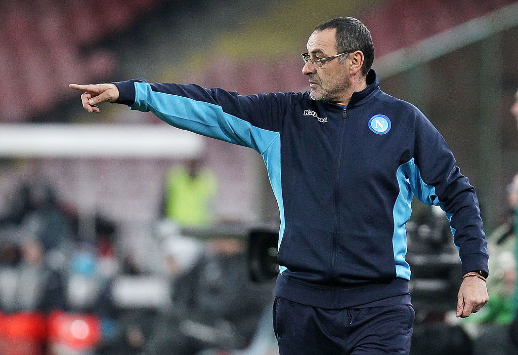 Maurizio Sarri – that's who Italy should hire