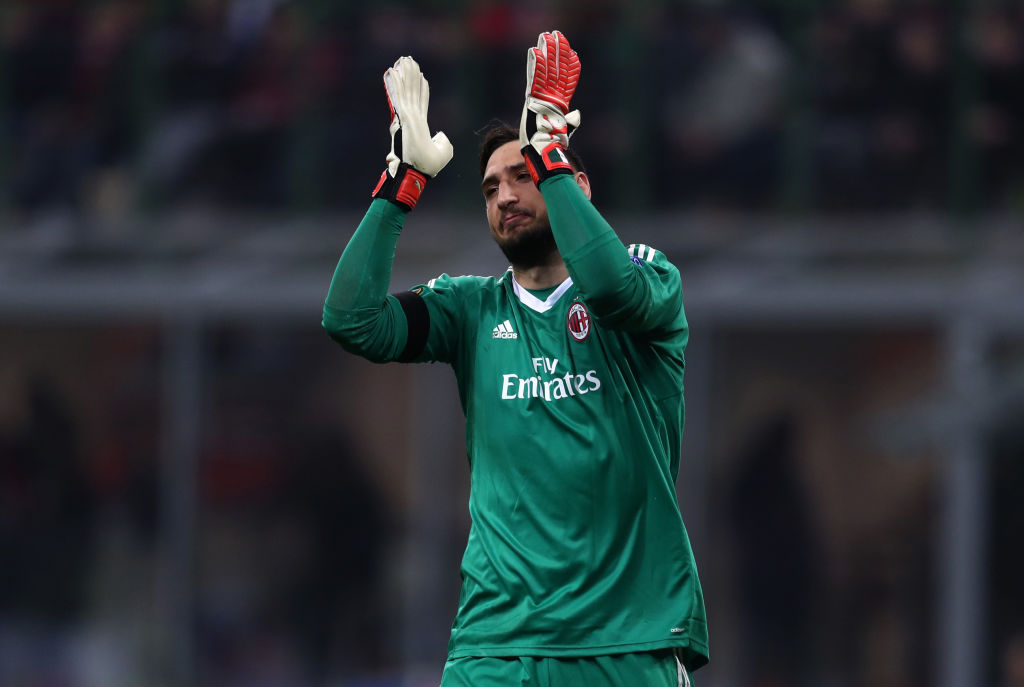 AC Milan v Arsenal - UEFA Europa League Round of 16: First Leg, Donnarumma