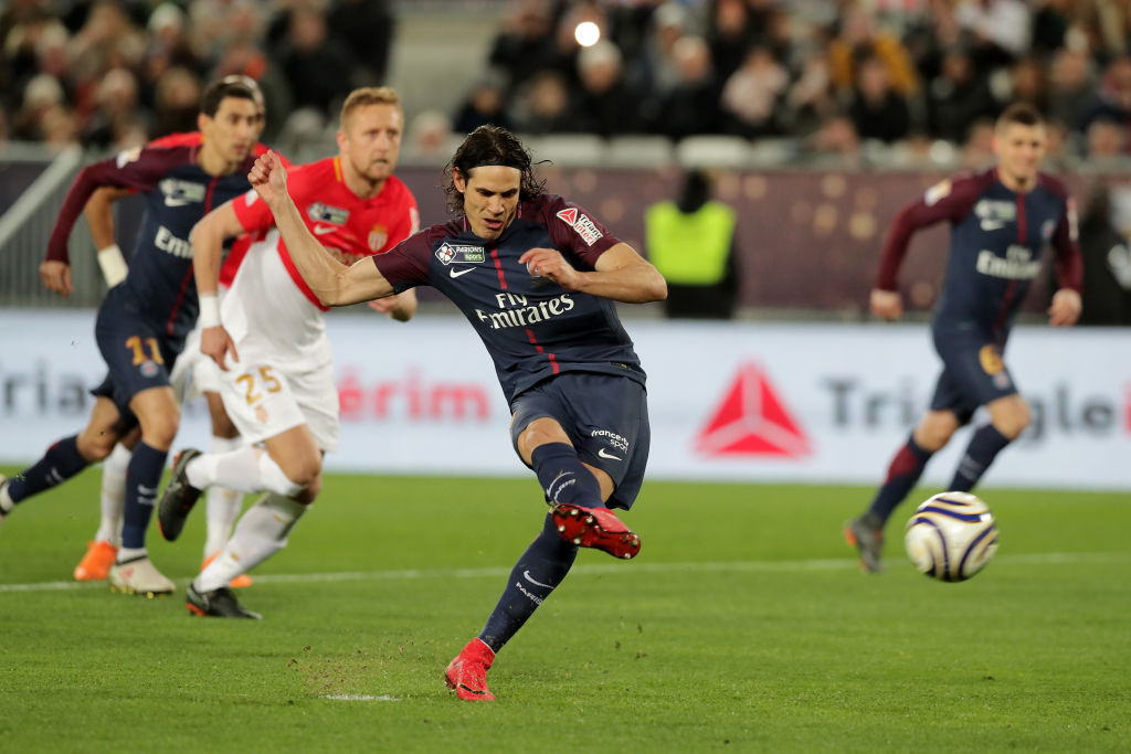 Cavani, Mbappe, Neymar and Thauvin short-listed for best player award