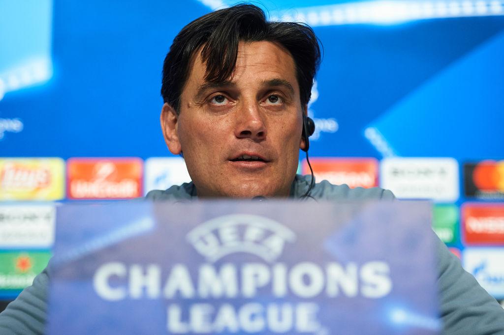 Sevilla FC Training And Press Conference