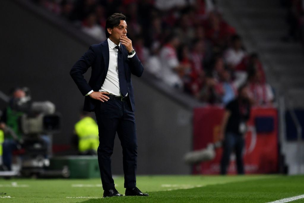 Montella to be sacked by Sevilla