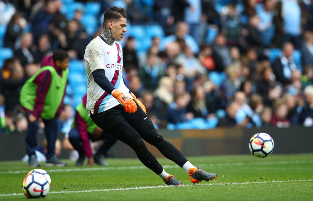 Ederson will not take penalties for Manchester City