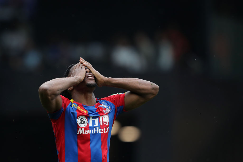 Wilfried Zaha defends himself against diver claims