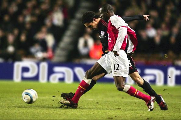 FB: CL 04/05, Arsenal London - FC Bayern Muenchen;