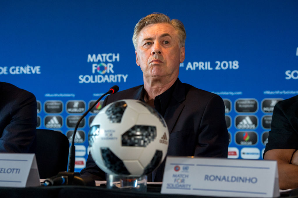UEFA Match For Solidarity Press Conference