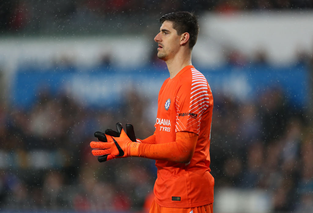 8ad792c4622 Chelsea goalkeeper Thibaut Courtois remains a target for Real Madrid this  summer