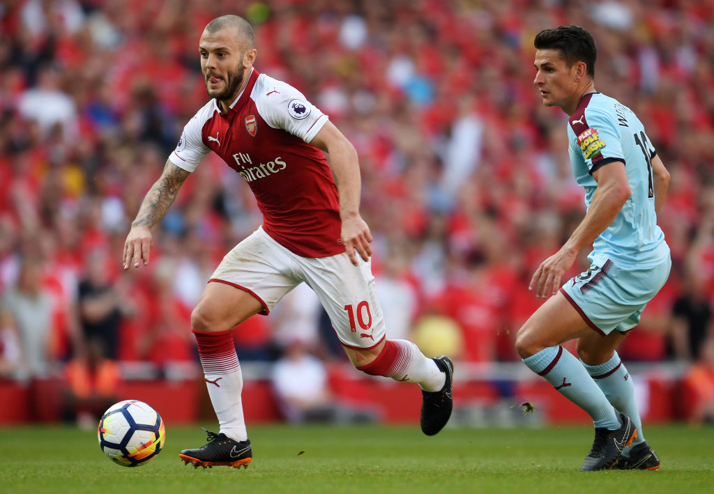"""Jack Wilshere has admitted his frustration at missing out on England's World Cup squad and believes that he""""could have made a real impact"""" at Russia"""