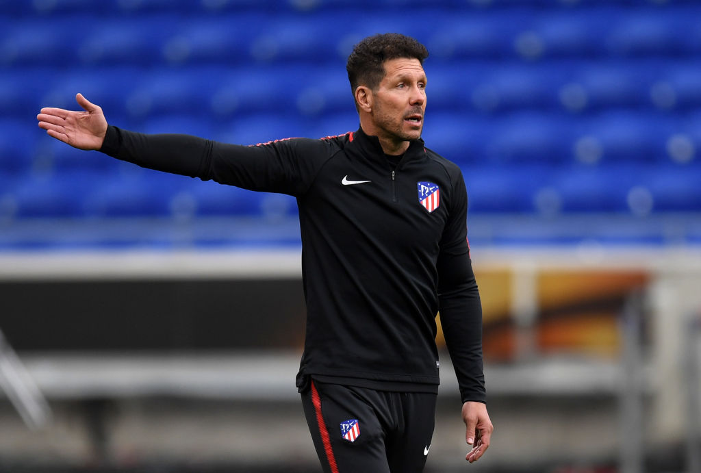 Club Atletico de Madrid Training Session - UEFA Europa League Final Previews