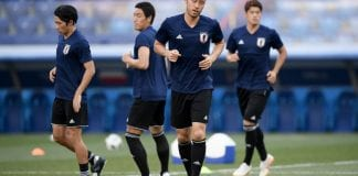Japan Press Conference And Training Session