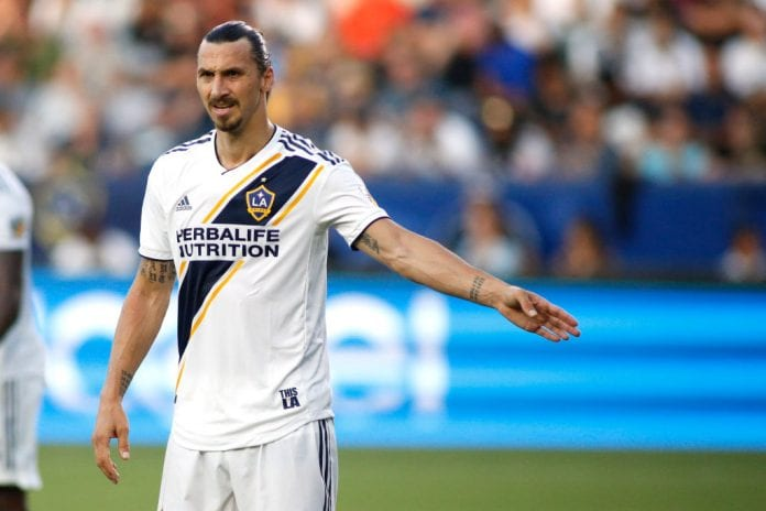 new arrival fc53b 977c1 Ibrahimovic out of MLS All-Star Game against Juventus ...
