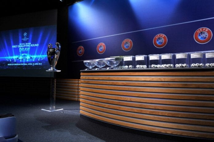 UEFA Champions League: Third round tie fixtures released