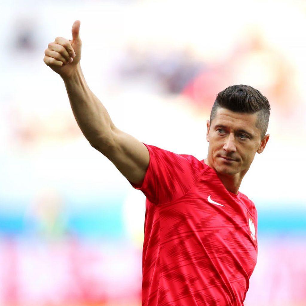 Lewandowski is Poland's top goalscorer