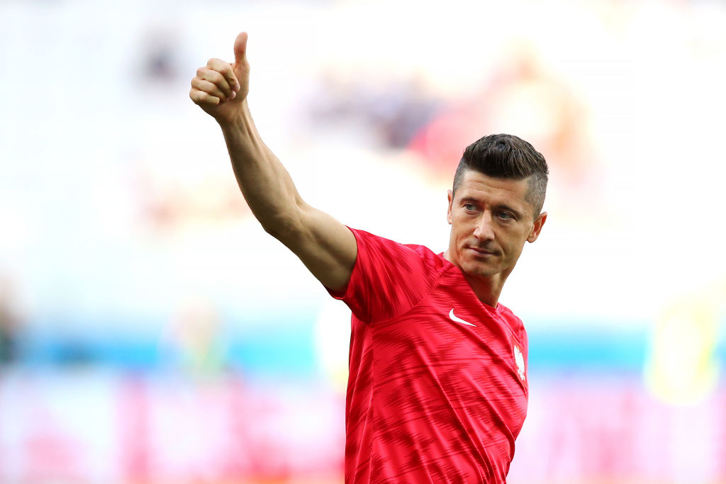 Lewandowski is Poland's top goalscorer