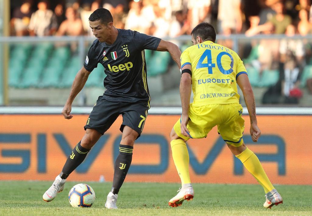 All The Records Ronaldo Broke On His Juventus Debut Ronaldo Com