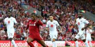Wijnaldum thinks Liverpool have a chance to compete with Manchester City