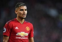 MANCHESTER, ENGLAND - AUGUST 10: Andreas Pereira of Manchester United looks on during the Premier League match between Manchester United and Leicester City at Old Trafford on August 10, 2018 in Manchester, United Kingdom. (Photo by Michael Regan/Getty Images)