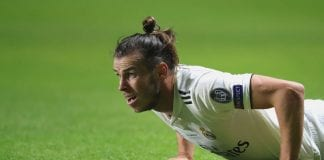 TALLINN, ESTONIA - AUGUST 15: Gareth Bale of Real looks on during the UEFA Super Cup between Real Madrid and Atletico Madrid at Lillekula Stadium on August 15, 2018 in Tallinn, Estonia. (Photo by Alexander Hassenstein/Getty Images)