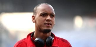 LONDON, ENGLAND - AUGUST 20: Fabinho of Liverpool arrives ahead of the Premier League match between Crystal Palace and Liverpool FC at Selhurst Park on August 20, 2018 in London, United Kingdom. (Photo by Julian Finney/Getty Images)