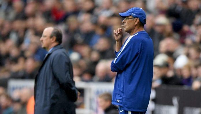 Sarri surprised by Benitez's ultra-defensive tactics