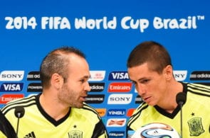 Spain Training & Press Conference - 2014 FIFA World Cup Brazil