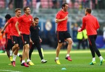 Atletico de Madrid Training Session - UEFA Champions League Final