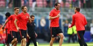 Atletico de Madrid Training Session - UEFA Champions League Final