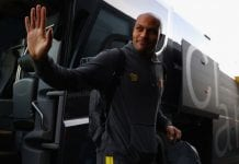 WATFORD, ENGLAND - MARCH 04: Younes Kaboul of Watford arrives at the stadium prior to the Premier League match between Watford and Southampton at Vicarage Road on March 4, 2017 in Watford, England. (Photo by Ian Walton/Getty Images)