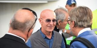 FERRARA, ITALY - SEPTEMBER 23: Arrigo Sacchi former coach of Italian National team attends the Serie A match between Spal and SSC Napoli at Stadio Paolo Mazza on September 23, 2017 in Ferrara, Italy. (Photo by Mario Carlini / Iguana Press/Getty Images)