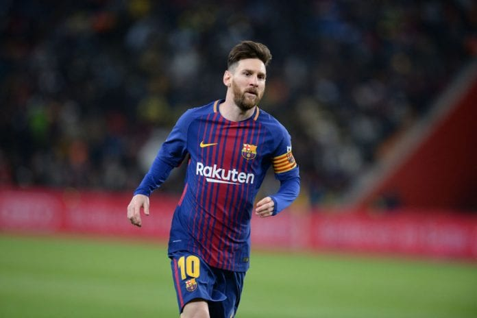 1090efa82 Lionel Messi has been named as the new Barcelona captain following the  departure of club legend Andres Iniesta last season