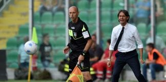 PALERMO, ITALY - JUNE 10: Head coach Filippo Inzaghi of Venezia shout instructions during the serie B playoff match between US Citta di Palermo and Venezia FC at Stadio Renzo Barbera on June 10, 2018 in Palermo, Italy. (Photo by Tullio M. Puglia/Getty Images)