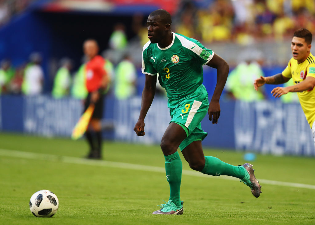 during the 2018 FIFA World Cup Russia group H match between Senegal and Colombia at Samara Arena on June 28, 2018 in Samara, Russia.
